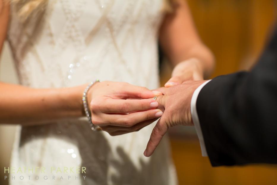 Fourth Presbyterian Church wedding ceremony in Chicago