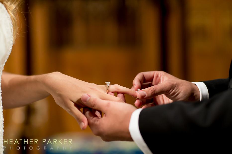 Fourth Presbyterian Church Chicago Wedding with Reception at Ritz Carlton