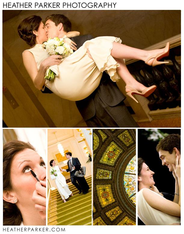 chicago cultural center & peninsula hotel chicago wedding photographer