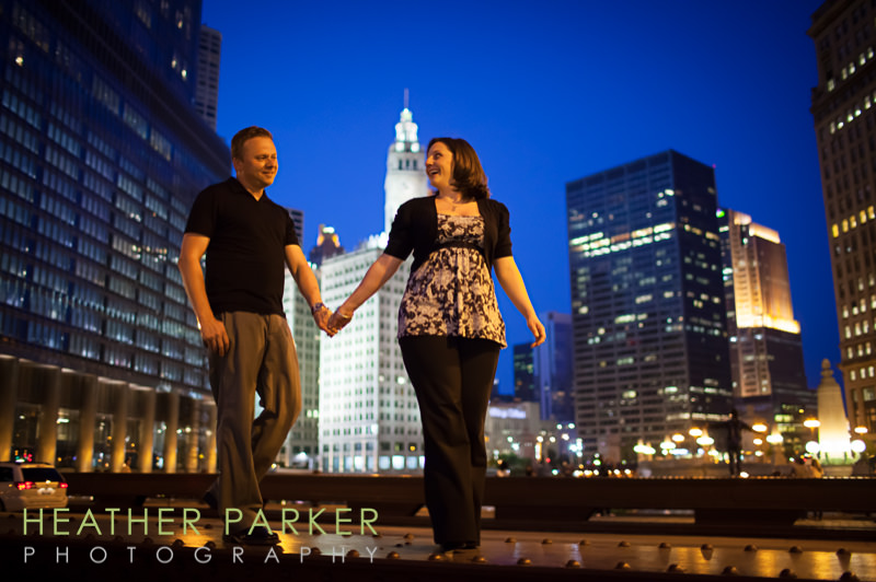 chicago loop best engagement photographers