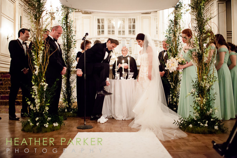 Fairmont Copley jewish wedding