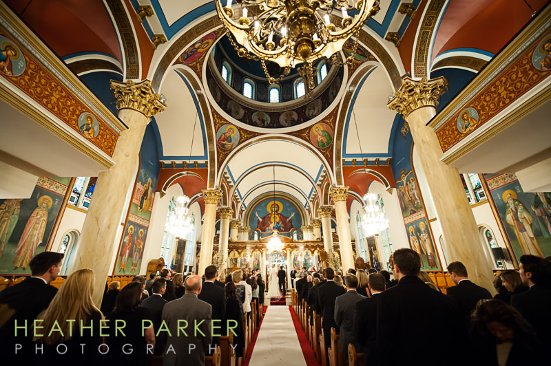 Annunciation Greek Orthodox Cathedral of Chicago wedding