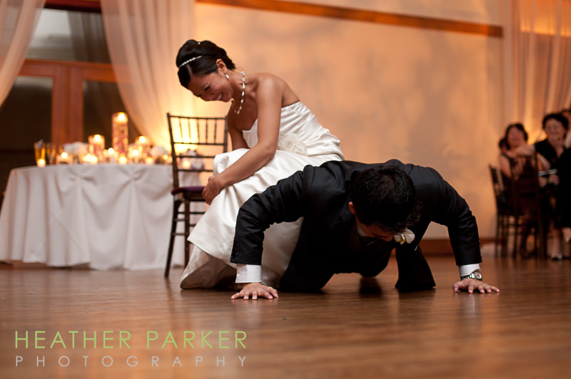 Ivy Room Chicago wedding reception games