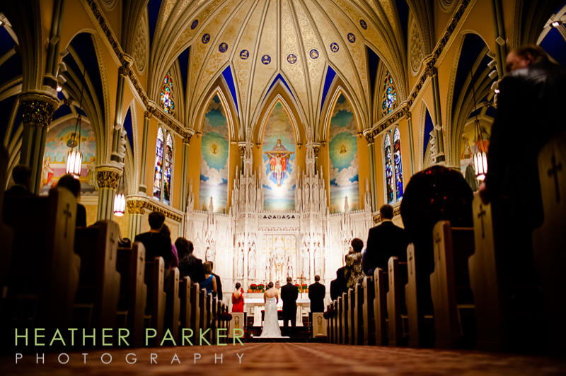 St Alphonsus Chicago wedding