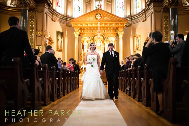 St Hedwig Chicago wedding