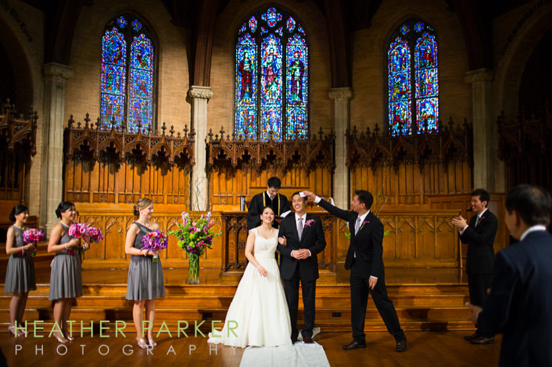 Wellesley Houghton Chapel wedding