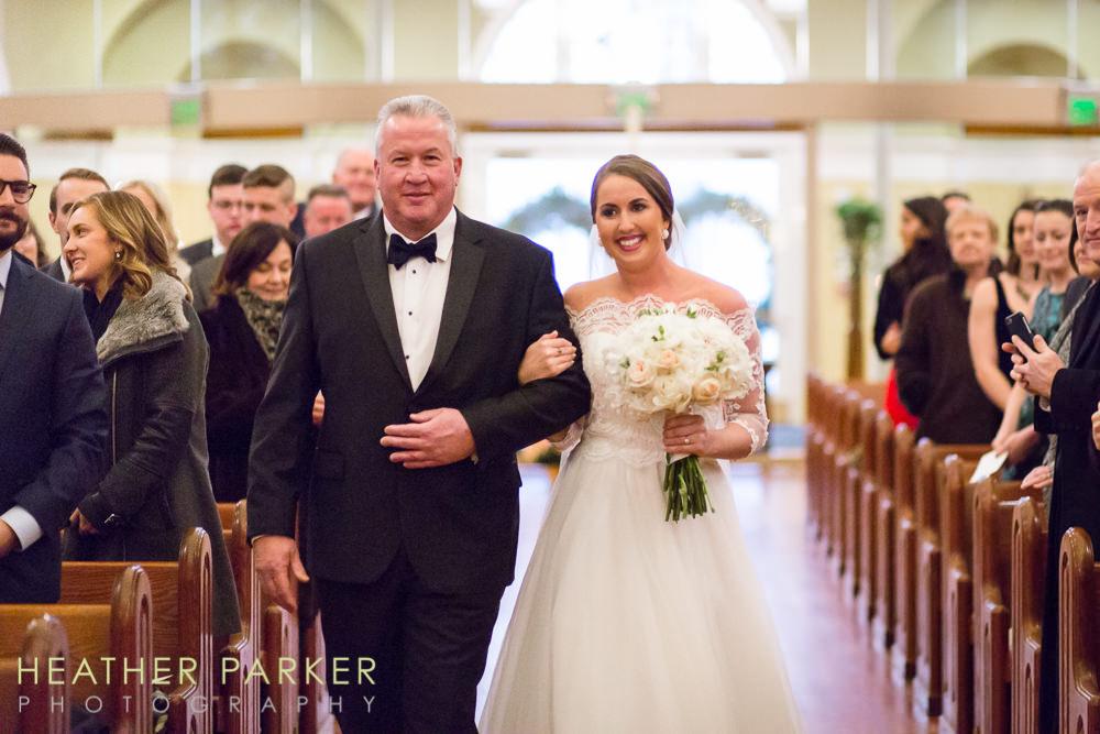 Fairmont Copley Boston Wedding Photos St Cecilias Church