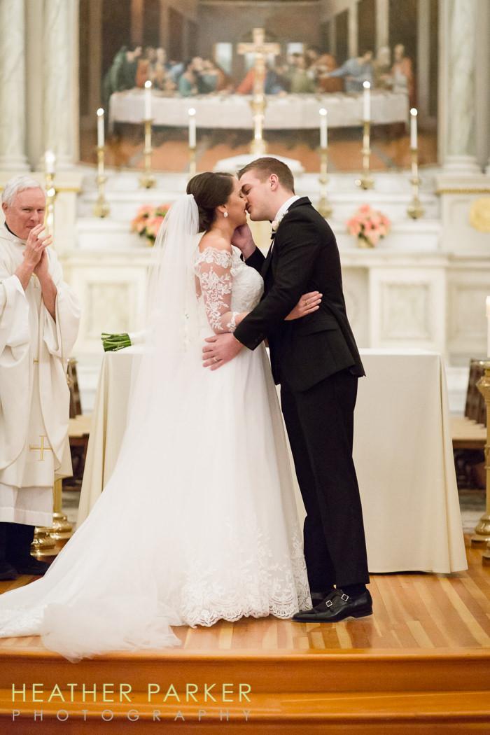 Fairmont Copley Plaza St Cecilias Church boston wedding photos