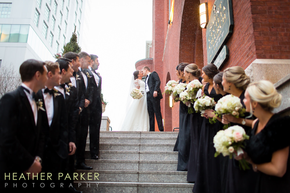 Fairmont Copley Plaza St Cecilias Church boston wedding photos