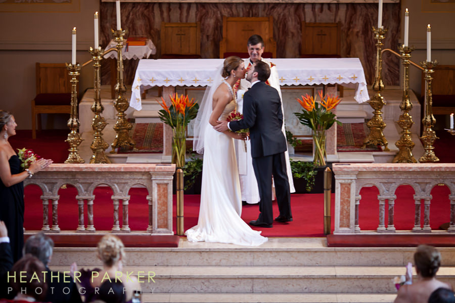 Assumption Church Chicago wedding