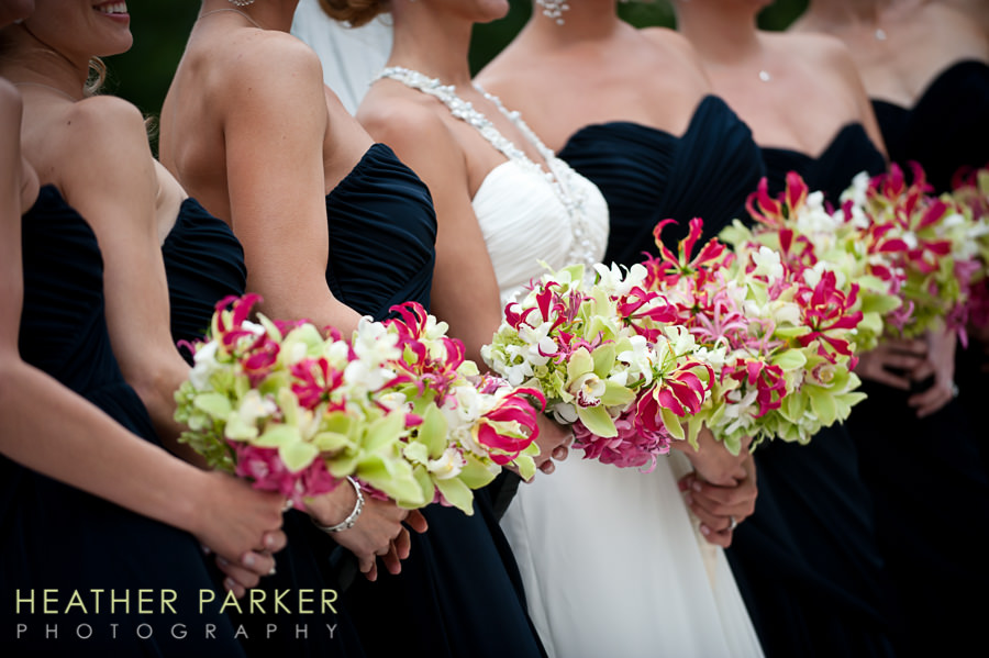 Kehoe Designs Chicago florist bridesmaid bouquets