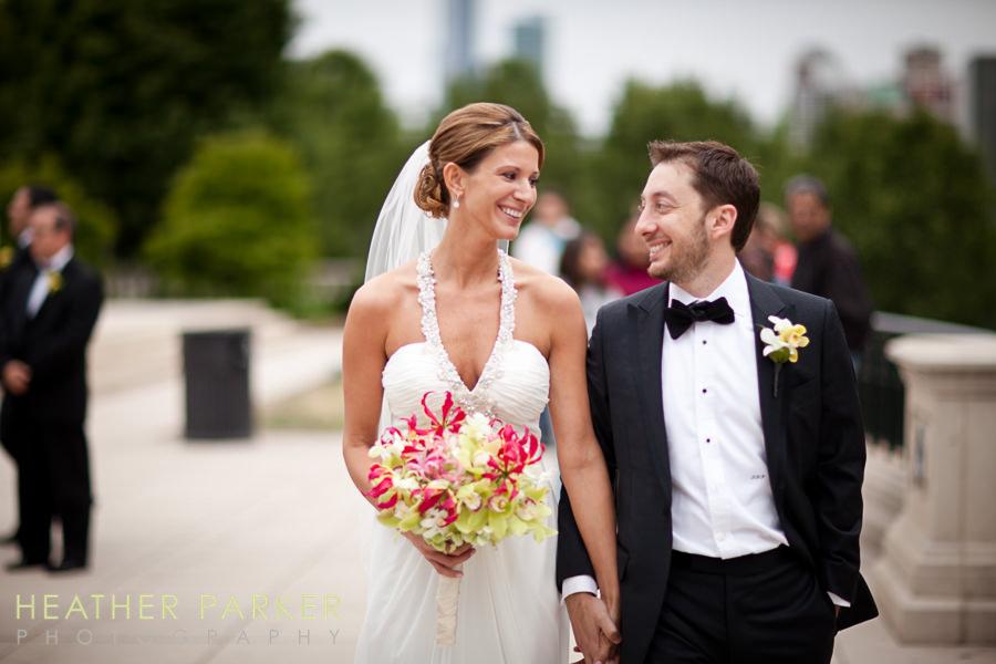 Kehoe Designs Chicago florist bride bouquet