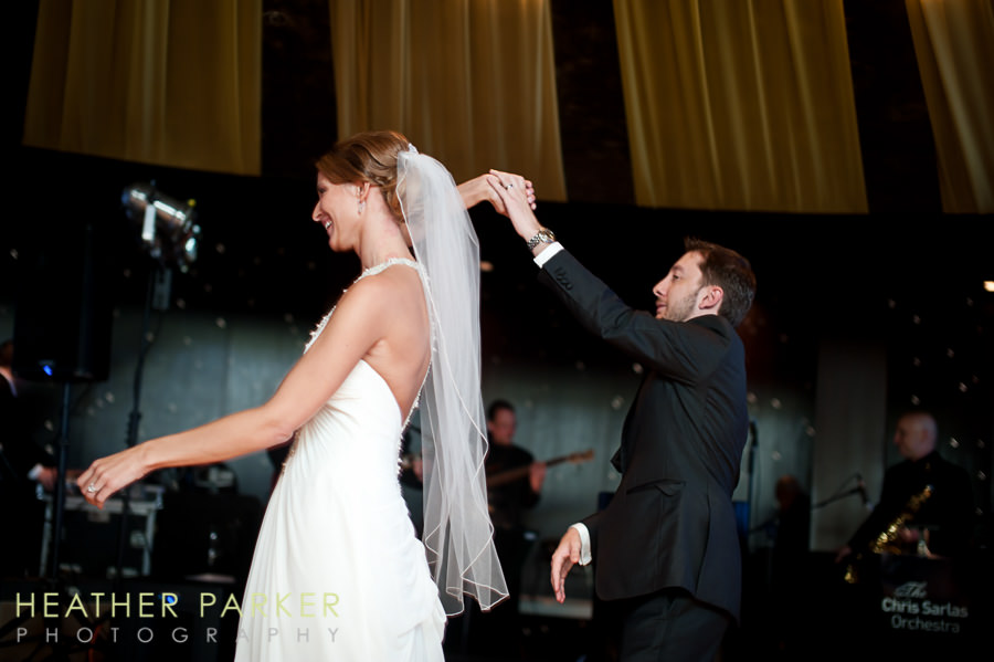 W Lakeshore Hotel chicago wedding reception first dance