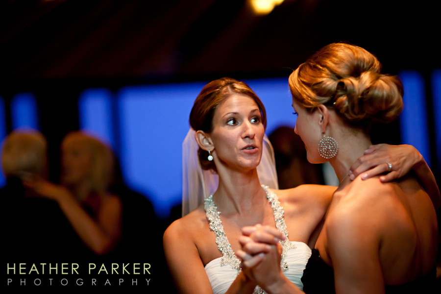 W Lakeshore Hotel chicago wedding reception photos