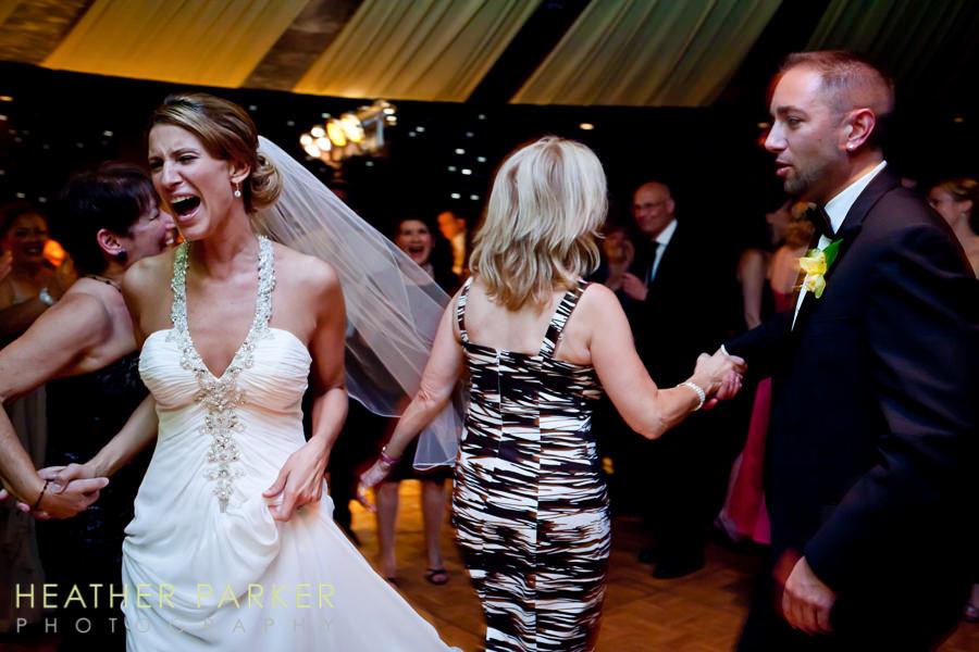 Lakeshore wedding