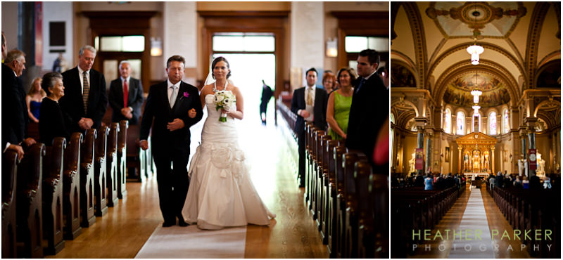 St Hedwig Catholic Church Chicago wedding