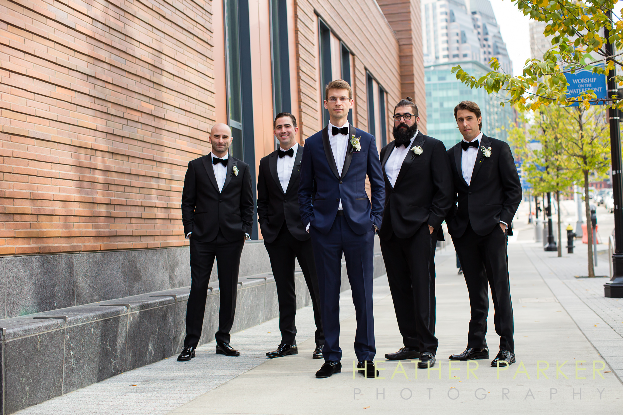 groomsmen boston ica