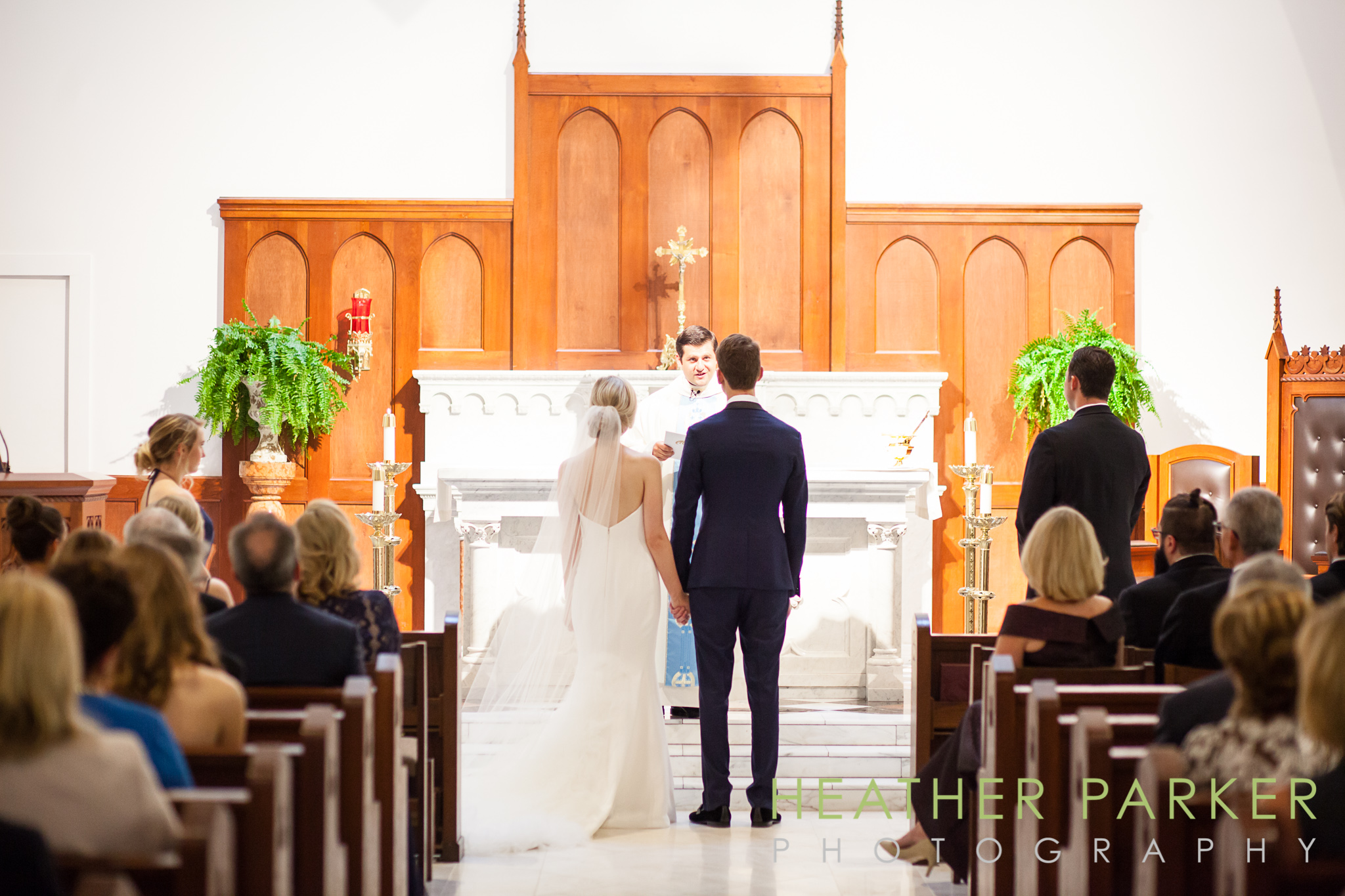 our lady of good voyage catholic boston church wedding