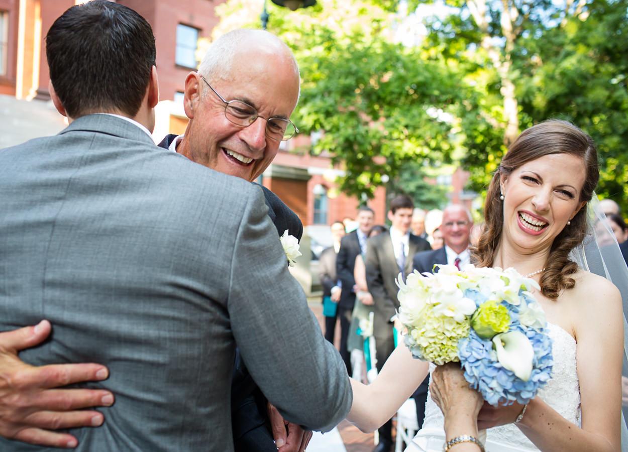 hip documentary wedding photographers