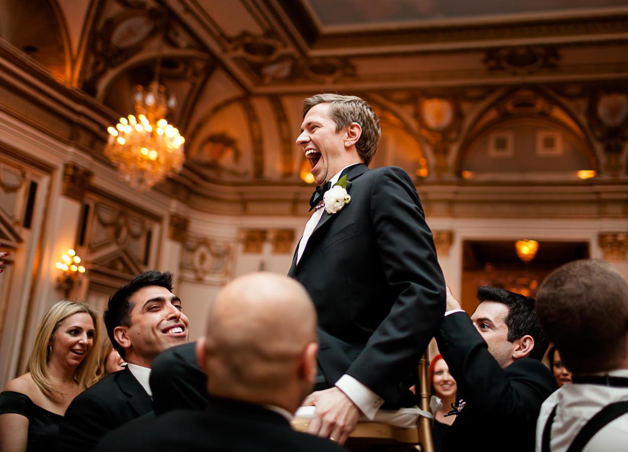 Jewish weddings at the Fairmont hotel