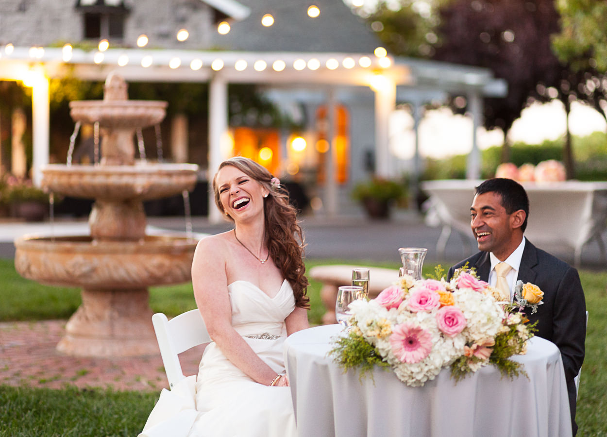 outdoor wedding reception lighting tips