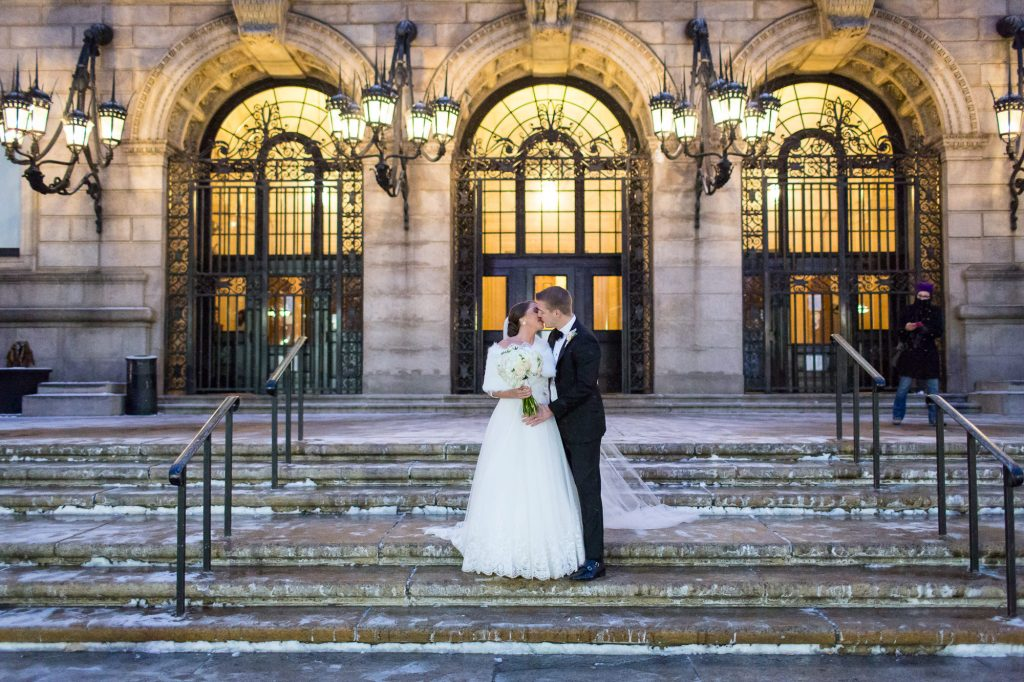 boston public library wedding phototgraphers