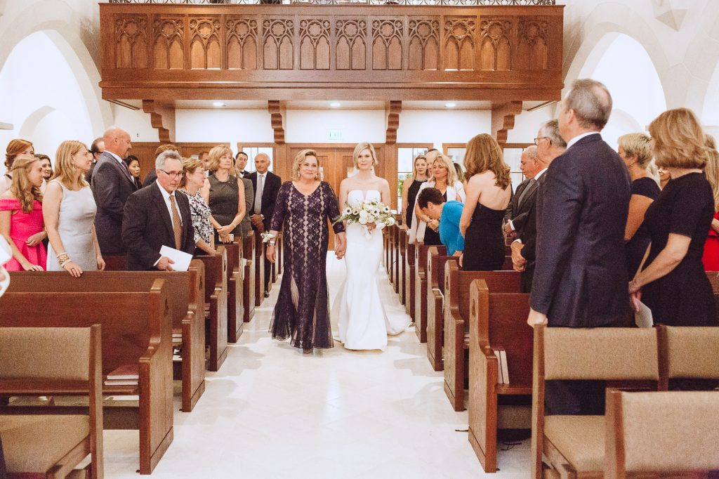 Our Lady of Good Voyage Seaport Shrine church wedding ceremony photographers
