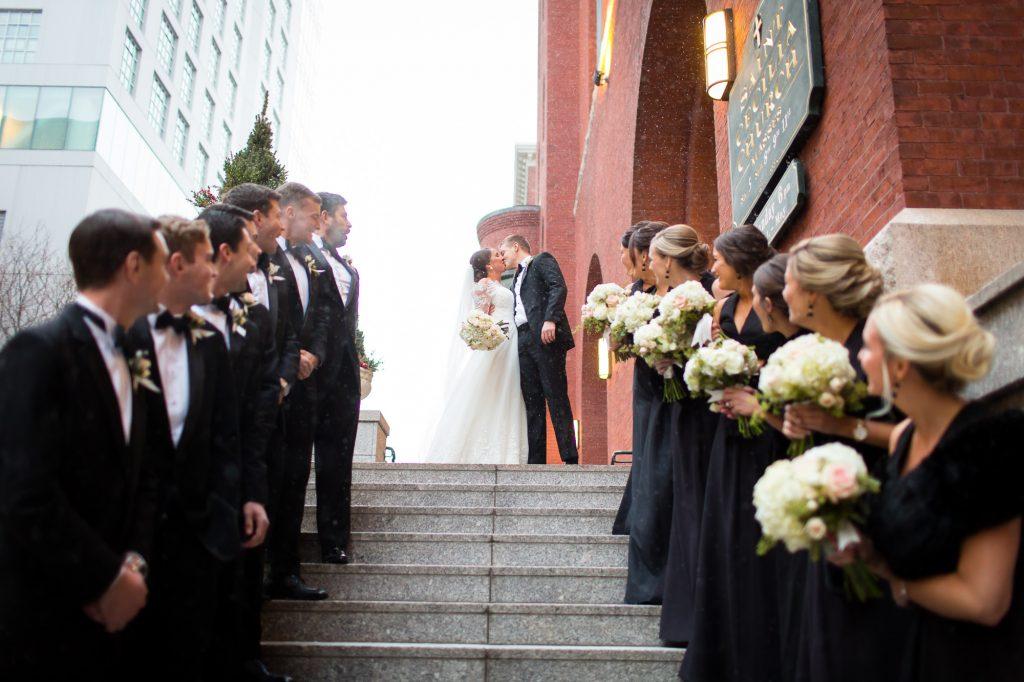 St. Cecilia Parish Boston wedding photos