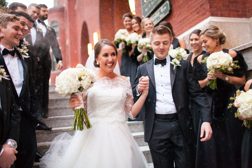 St. Cecilia Parish Boston wedding photos