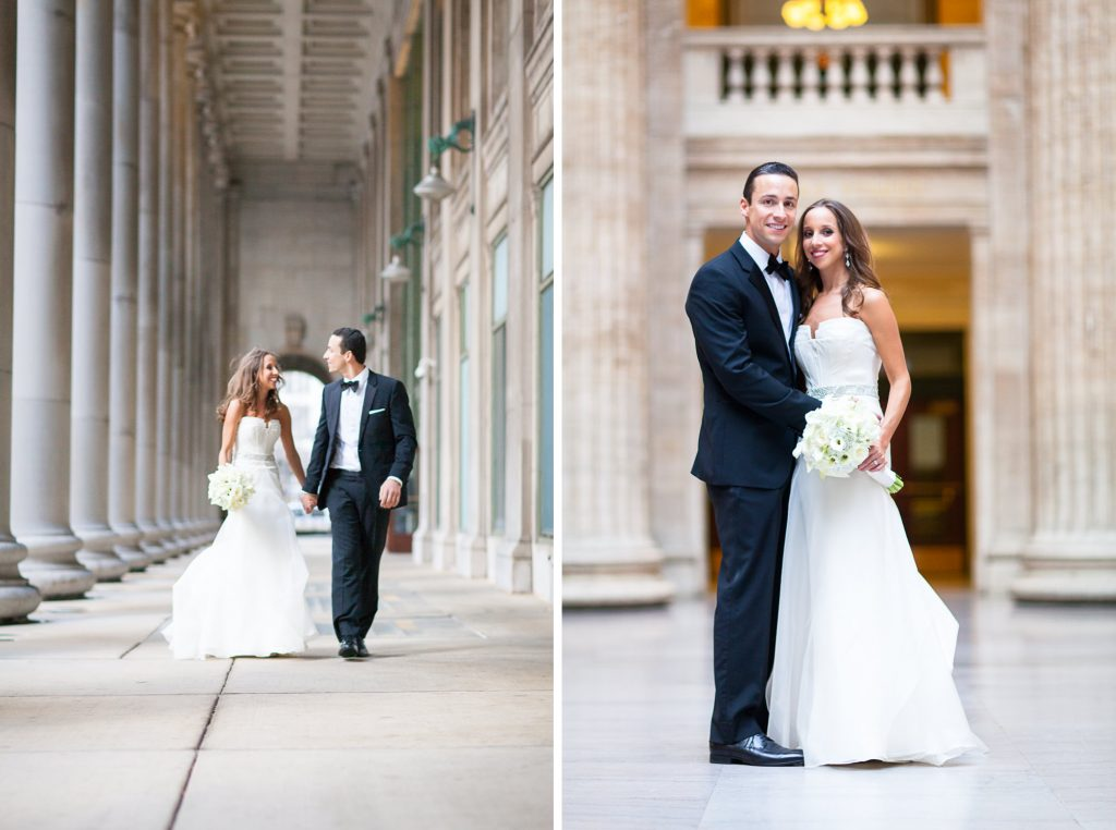 chicago union station wedding photo locations